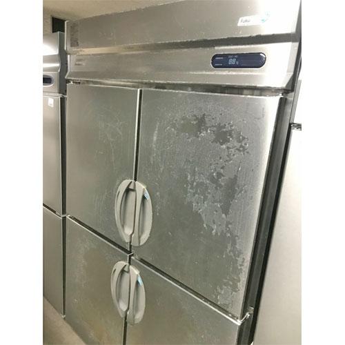 【中古】縦型冷凍冷蔵庫 フクシマガリレイ(福島工業) URD-122PMD6 幅1200×奥行800×高さ1950 三相200V 【送料無料】【業務用】