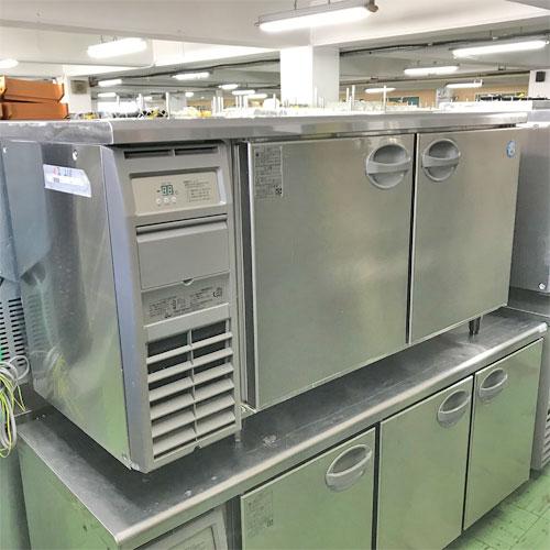 【中古】冷蔵コールドテーブル フクシマガリレイ(福島工業) YRC-150RM2 幅1500×奥行600×高さ800 【送料別途見積】【業務用】