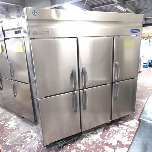 【中古】冷凍庫 ホシザキ HF-180ZT3-ML 幅1800×奥行650×高さ1890 三相200V 【送料別途見積】【業務用】