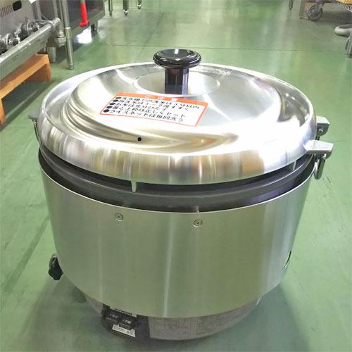 【中古】ガス炊飯器 リンナイ RR-30S2 幅466×奥行438×高さ442 都市ガス 【送料別途見積】【業務用】