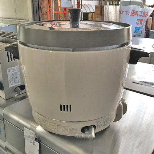 【中古】ガス炊飯器 リンナイ RR-20SF2 幅431×奥行334.5×高さ348 都市ガス 【送料別途見積】【業務用】