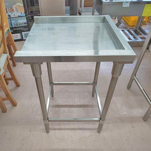 【中古】クリーンテーブル 幅600×奥行600×高さ840 【送料無料】【業務用】