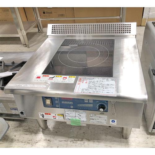 【中古】電磁調理器 ニチワ電機 MIR-5LAD-N5 幅600×奥行600×高さ450 三相200V 【送料別途見積】【業務用】