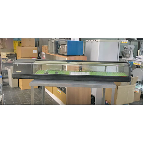 【中古】冷蔵ネタケース ホシザキ HNC-180A-l 幅1800×奥行345×高さ270 【送料別途見積】【業務用】