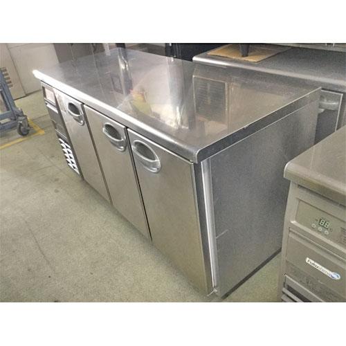 【中古】冷凍冷蔵コールドテーブル フクシマガリレイ(福島工業) YRC-151PE-E 幅1500×奥行600×高さ800 【送料別途見積】【業務用】