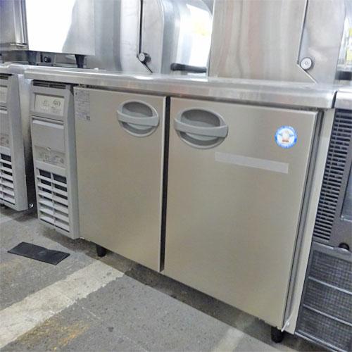 【中古】冷蔵コールドテーブル フクシマガリレイ(福島工業) AYC-120RM 幅1200×奥行600×高さ800 【送料別途見積】【業務用】