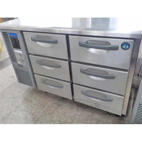 【中古】冷蔵ドロワーコールドテーブル ホシザキ RT-120DDCG 幅1200×奥行750×高さ800 【送料無料】【業務用】