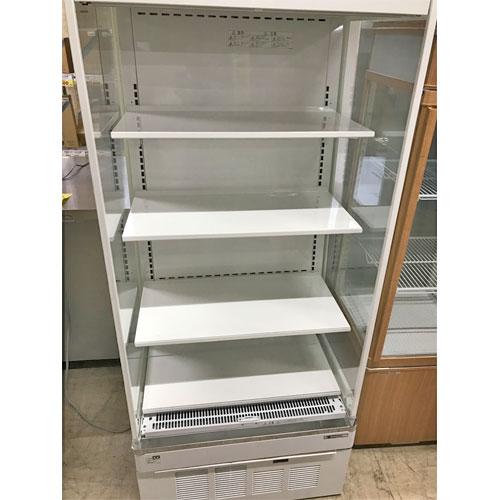 【中古】冷蔵多段オープンショーケース サンデン RSG-650FX 幅650×奥行600×高さ1480 【送料別途見積】【業務用】