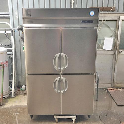 【中古】冷凍冷蔵庫 フクシマガリレイ(福島工業) URN-122PMD6 幅1200×奥行650×高さ1950 三相200V 【送料別途見積】【業務用】
