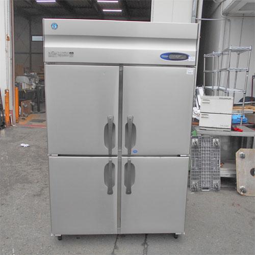 【中古】4ドア縦型冷凍冷蔵庫 ホシザキ HRF-120Z 幅1200×奥行800×高さ1890 【送料別途見積】【業務用】