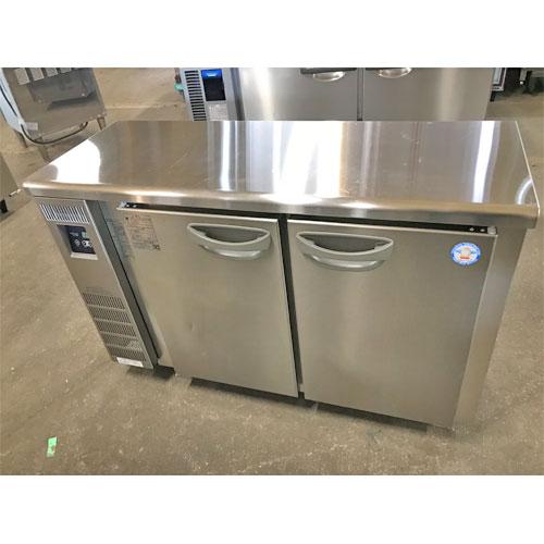 【中古】冷蔵コールドテーブル フクシマガリレイ(福島工業) TMU-40RE2 幅1200×奥行450×高さ800 【送料別途見積】【業務用】