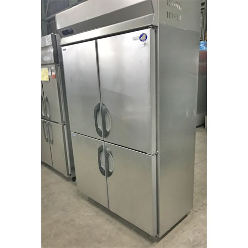 【中古】縦型冷凍冷蔵庫 三洋電機 SRR-G1261C2 幅1200×奥行650×高さ1950 【送料別途見積】【業務用】