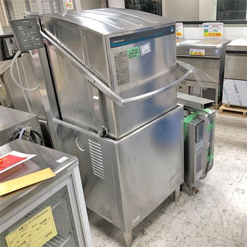 【中古】食器洗浄機 ホシザキ JWE-680B 幅640×奥行655×高さ1432 三相200V LPG(プロパンガス) 【送料別途見積】【業務用】