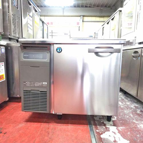 【中古】冷蔵コールドテーブル ホシザキ RT-90MNCG 幅900×奥行600×高さ800 【送料別途見積】【業務用】