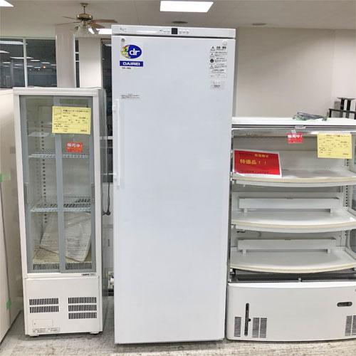 【中古】無風超冷凍ストッカー ダイレイ GS-362 幅650×奥行700×高さ1840 【送料別途見積】【業務用】