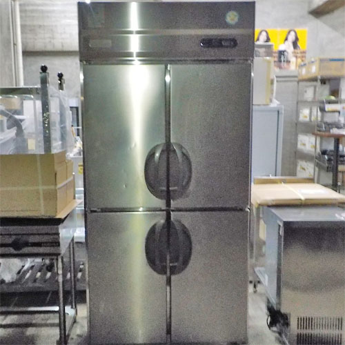 【中古】縦型冷凍冷蔵庫 フクシマガリレイ(福島工業) ARN-091PM 幅900×奥行650×高さ1950 【送料別途見積】【業務用】