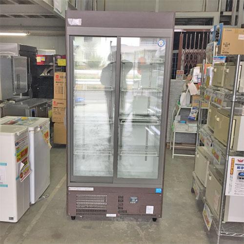 【中古】冷蔵リーチインショーケース フクシマガリレイ(福島工業) MSU-090GHMSR 幅900×奥行450×高さ1900 【送料別途見積】【業務用】