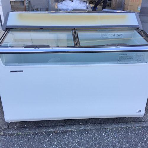 【中古】冷凍ショーケース パナソニック(Panasonic) SCR-120DNA 幅1204×奥行714×高さ920 【送料別途見積】【業務用】