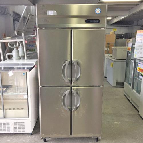 【中古】縦型冷蔵庫 フクシマガリレイ(福島工業) ARN-090RM-F 幅900×奥行650×高さ1900 【送料別途見積】【業務用】