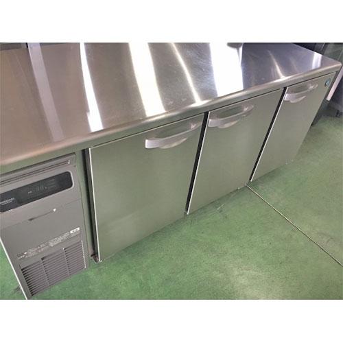 【中古】冷蔵コールドテーブル ホシザキ RT-180SDG 幅1800×奥行750×高さ800 【送料別途見積】【業務用】