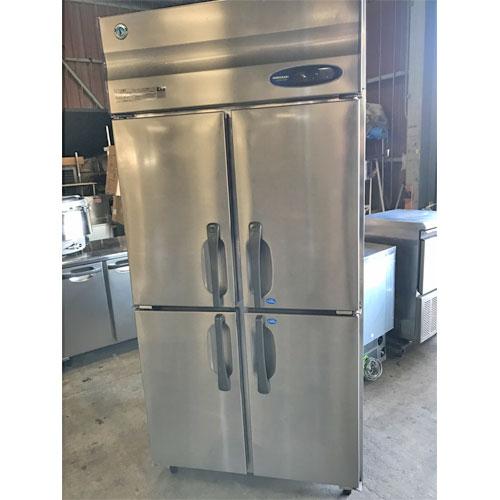 【中古】縦型冷凍冷蔵庫 ホシザキ HRF-90ZFT3 幅900×奥行650×高さ1910 三相200V 【送料別途見積】【業務用】