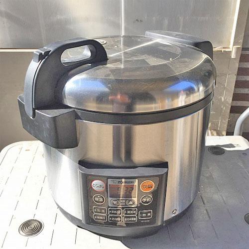 【中古】電気炊飯ジャー 象印 NS-QC36 幅470×奥行385×高さ400 【送料別途見積】【業務用】