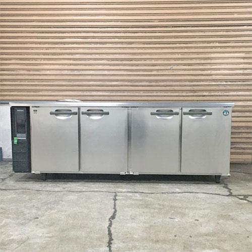 【中古】冷蔵コールドテーブル ホシザキ RT-210PNE1 幅2100×奥行600×高さ785 【送料別途見積】【業務用】