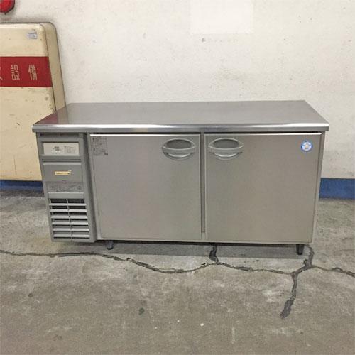 【中古】冷蔵コールドテーブル フクシマガリレイ(福島工業) YRC-150RM 幅1500×奥行600×高さ790 【送料別途見積】【業務用】