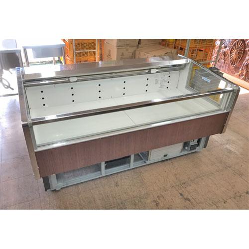 【中古】平型冷蔵ショーケース サンヨー SSM-ES61SA 幅1800×奥行900×高さ890 【送料無料】【業務用】