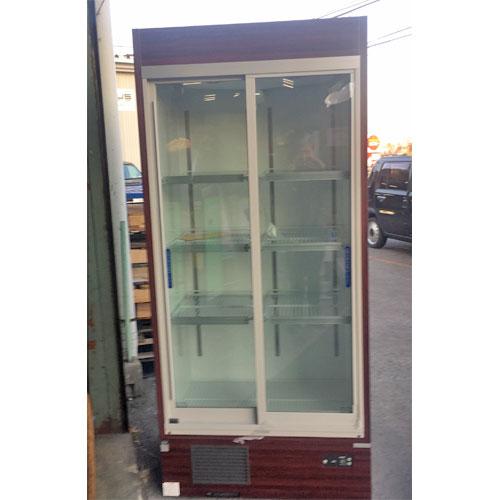 【中古】冷蔵リーチインショーケース 大和冷機 351UJ 幅900×奥行600×高さ1965 【送料別途見積】【業務用】