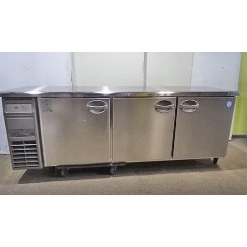 【中古】冷蔵コールドテーブル フクシマガリレイ(福島工業) YRC-210RE2 幅2100×奥行600×高さ800 【送料無料】【業務用】