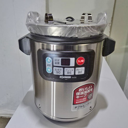 【中古】スープジャー 象印マホービン TH-CU45-XA 幅315×奥行260×高さ350 【送料無料】【業務用】