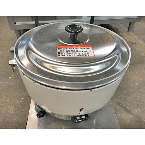 【中古】ガス炊飯器 リンナイ RR-40S1 幅525×奥行481×高さ421 LPG(プロパンガス) 【送料別途見積】【業務用】