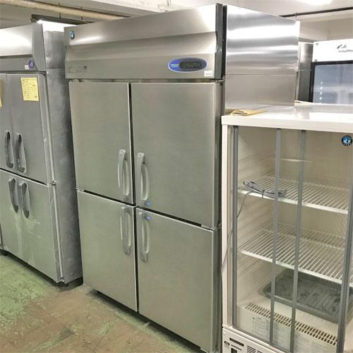【中古】縦型冷凍冷蔵庫 ホシザキ HRF-120ZT3 幅1200×奥行650×高さ1910 三相200V 【送料無料】【業務用】