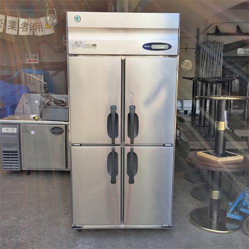 【中古】冷凍庫 ホシザキ HF-90ZT3-ML 幅900×奥行650×高さ1900 三相200V 【送料別途見積】【業務用】