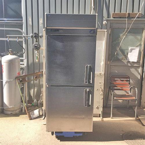 【中古】冷蔵庫 サンヨー SRR-J761VL 幅745×奥行650×高さ1930 【送料別途見積】【業務用】