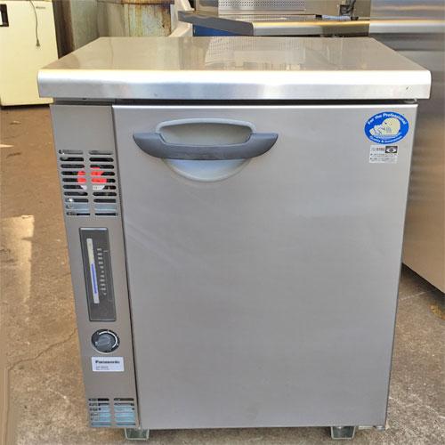 【中古】冷凍コールドテーブル パナソニック(Panasonic) SUF-G641B 幅600×奥行450×高さ790 【送料別途見積】【業務用】