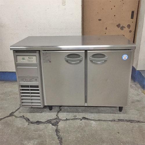【中古】冷蔵コールドテーブル フクシマガリレイ(福島工業) AYC-120RM-F 幅1200×奥行600×高さ800 【送料別途見積】【業務用】