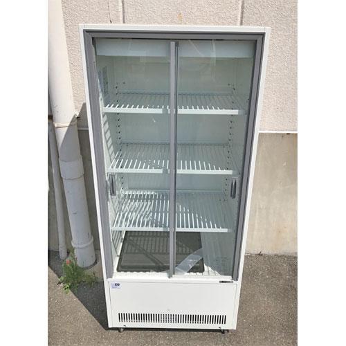 【中古】冷蔵ショーケース サンデン VRS-106XE-B 幅633×奥行435×高さ1442 【送料別途見積】【業務用】