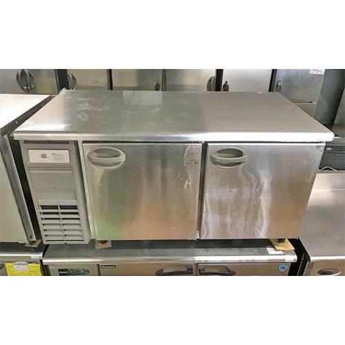 【中古】冷蔵コールドテーブル フクシマガリレイ(福島工業) YRW-150RM1(改) 幅1500×奥行750×高さ800 【送料別途見積】【業務用】