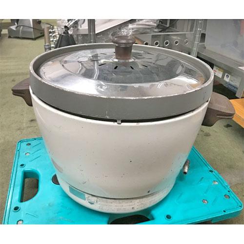 【中古】ガス炊飯器 リンナイ RR-15SF-1 幅431×奥行331×高さ318 都市ガス 【送料別途見積】【業務用】
