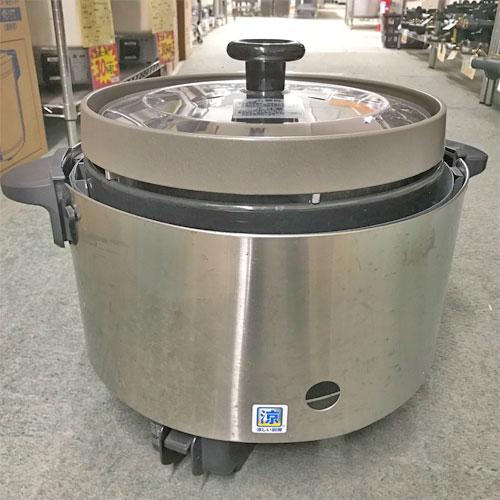 【中古】ガス炊飯器 リンナイ RR-S20SF 幅470×奥行378×高さ357 都市ガス 【送料別途見積】【業務用】