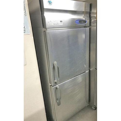 【中古】縦型冷蔵庫 ホシザキ HR-75LZT 幅750×奥行650×高さ1900 【送料無料】【業務用】