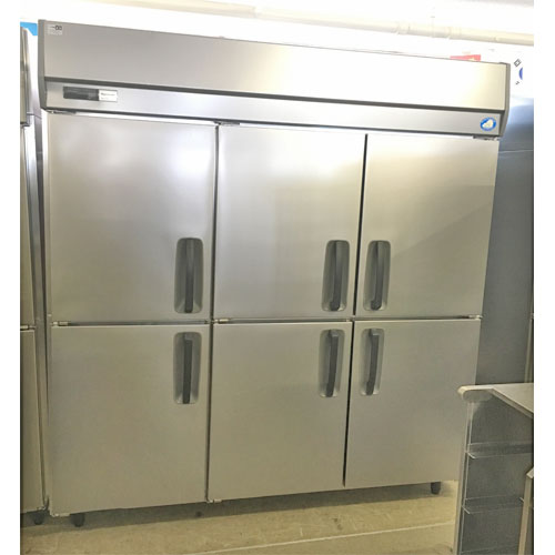 【中古】縦型冷蔵庫 パナソニック(Panasonic) SKK-K1881 幅1800×奥行800×高さ1950 【送料別途見積】【業務用】