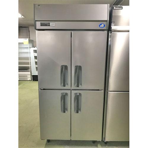 【中古】縦型冷蔵庫 パナソニック(Panasonic) SRR-K961S 幅900×奥行650×高さ1950 【送料別途見積】【業務用】