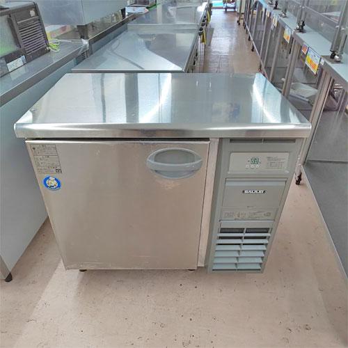 【中古】冷蔵コールドテーブル フクシマガリレイ(福島工業) YRC-090RM 幅900×奥行600×高さ800 【送料無料】【業務用】