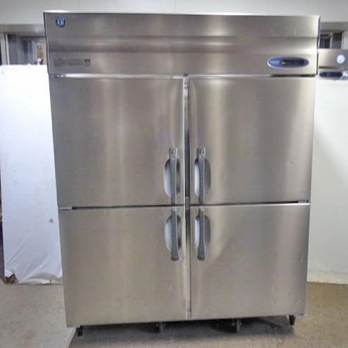 【中古】縦型冷凍庫 ホシザキ HF-150A3 幅1500×奥行800×高さ1890 三相200V 【送料無料】【業務用】