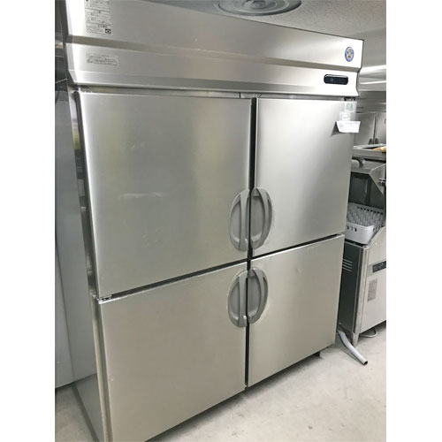 【中古】縦型冷蔵庫 フクシマガリレイ(福島工業) URN-150RM6 幅1500×奥行650×高さ1950 【送料無料】【業務用】