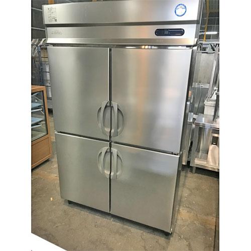 【中古】縦型冷蔵庫 フクシマガリレイ(福島工業) URD-120RM6 幅1200×奥行800×高さ1950 【送料無料】【業務用】