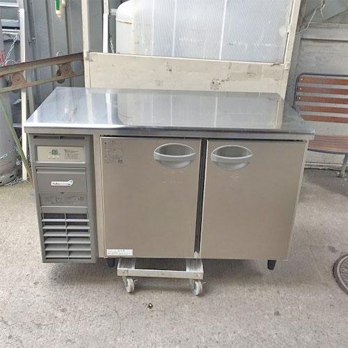 【中古】冷蔵コールドテーブル フクシマガリレイ(福島工業) YRC-120RMF(改) 幅1200×奥行600×高さ800 【送料別途見積】【業務用】